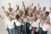 Junggebliebene Chorsänger aus Massachusetts