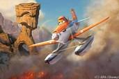 Dusty wird als Löschflugzeug zum Helden