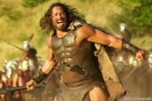 "Dwayne ""The Rock"" Johnson mimt Hercules"