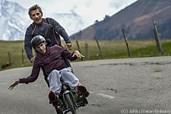 Julien und sein Vater trainieren hart