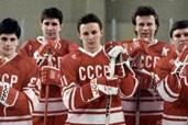 Eine Eishockey-Mannschaft auf politischem Glatteis