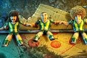 Die Kicker-Figuren erwachen zum Leben