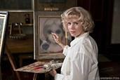 Margaret malt, ihr Mann Walter erntet den Ruhm