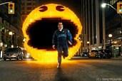 Pac-Man frisst sich durch die Stadt