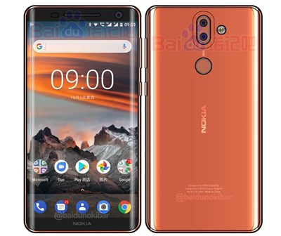 Nokia 9 mit Curved Display