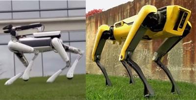 Boston Dynamics stellt neuen Laufroboter Spot Mini vor
