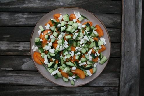rezept: fruchtsalat mit essig und Öl - gruß aus der küche ... - Gruß Aus Der Küche Rezepte
