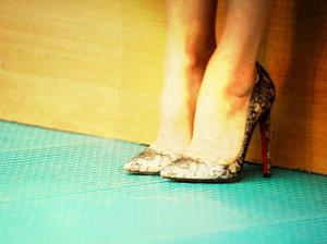 Kick Footwear - Womens Damen Arbeit Schule Buuml;ro Uniform Court Schuhe Schwarz Casual Low Mid Heels