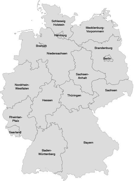 Karte Bundesländer.Bundesländer Karte Urlaub In Deutschland Derstandard At Lifestyle