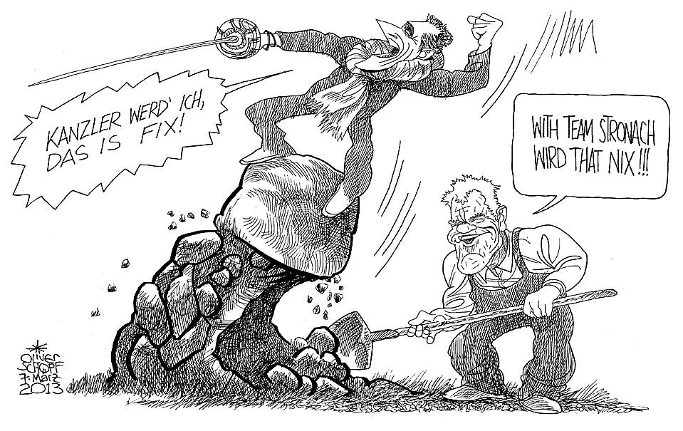 Sex-Tort-Karikatur