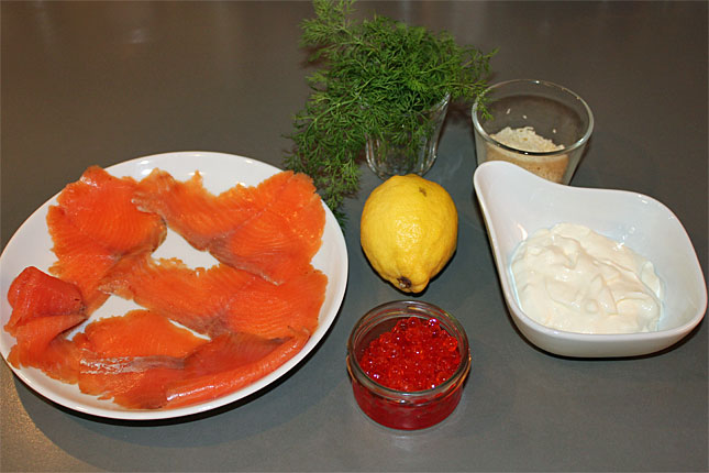 rezept f r blini mit r ucherfisch und kaviar seite 2 vorspeisen salate. Black Bedroom Furniture Sets. Home Design Ideas