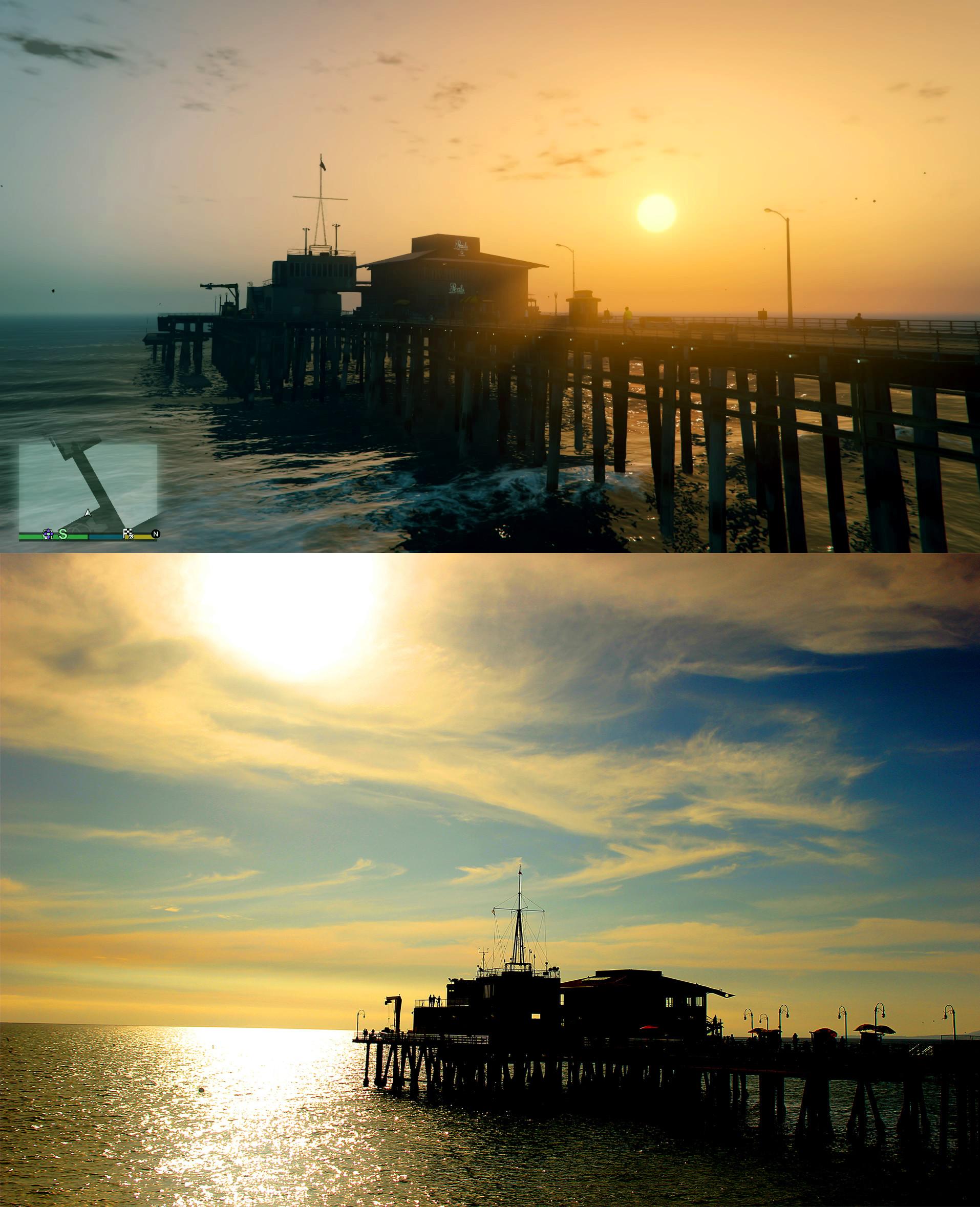 """Hisaya Los Angeles: """"GTA 5"""": Los Santos Und Los Angeles Im Vergleich"""