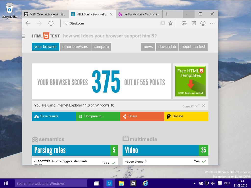 Internet Explorer Nachfolger