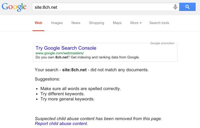 8chan Picture: 8chan: Google Entfernt Erstmals Gesamte Domain