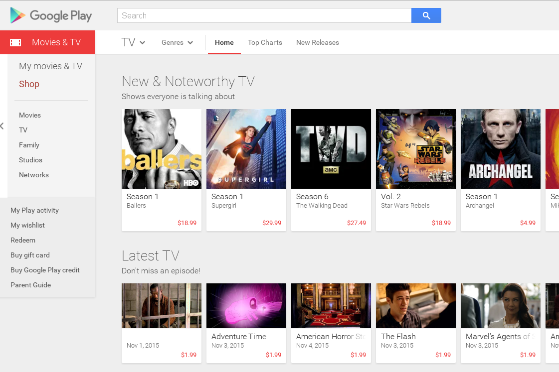 google play schon bald auch tv serien in deutschland google etat. Black Bedroom Furniture Sets. Home Design Ideas