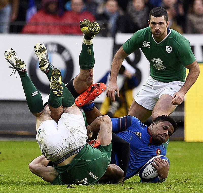 Irlands mission 3 fr h am ende rugby six nations for Interieur sport rugby