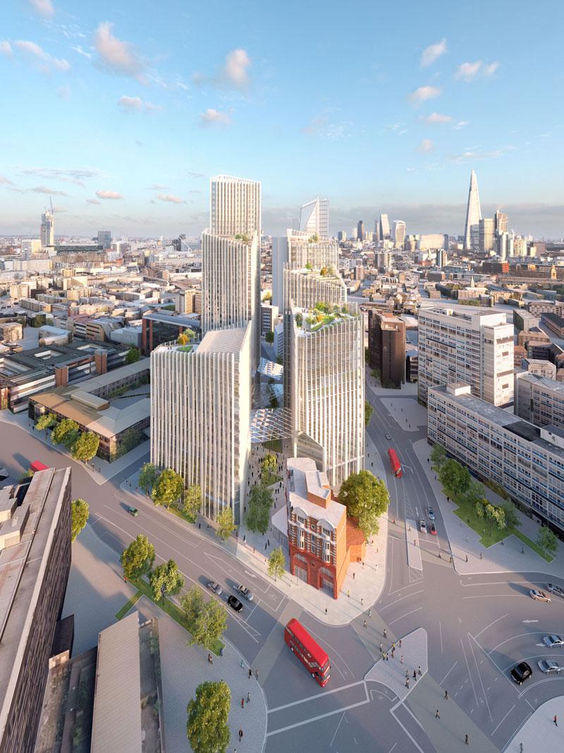 toblerone towers ohne leistbares wohnen in london architektur stadt. Black Bedroom Furniture Sets. Home Design Ideas