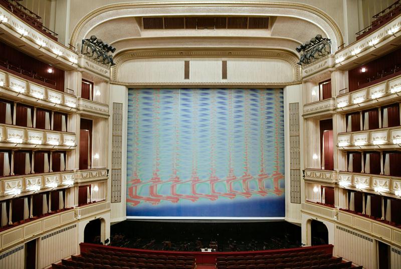 Oper Vorhang