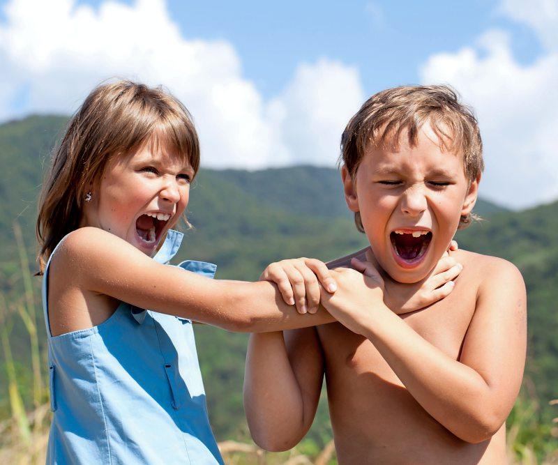 Aggressive Eltern