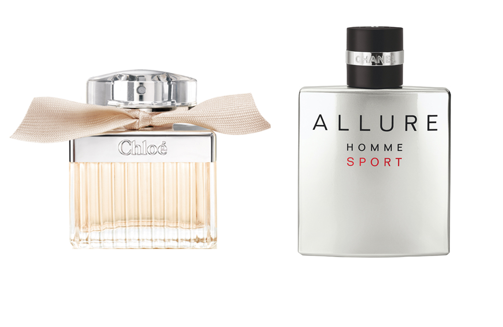 beste parfums gek rt chlo eau de parfum und allure homme sport von chanel mode kosmetik. Black Bedroom Furniture Sets. Home Design Ideas