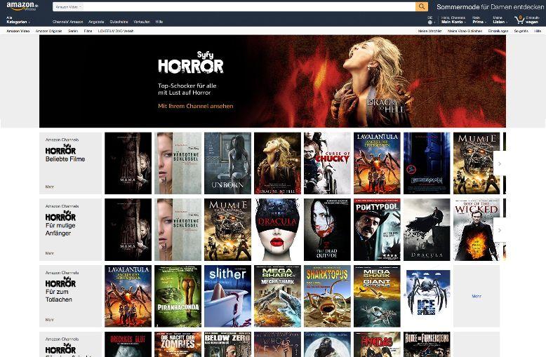 Streaming - Amazon bringt Live-TV in Prime Videos nach
