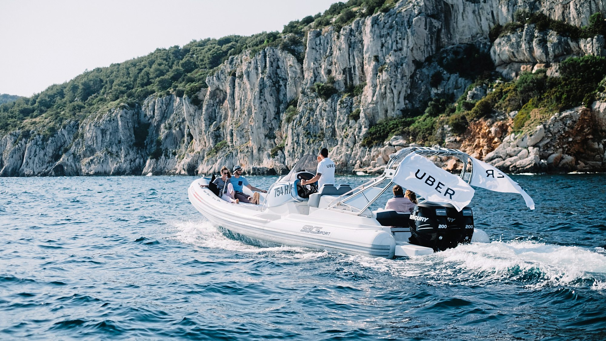 Schnellboot On Demand Uber Startet Boat In Kroatien