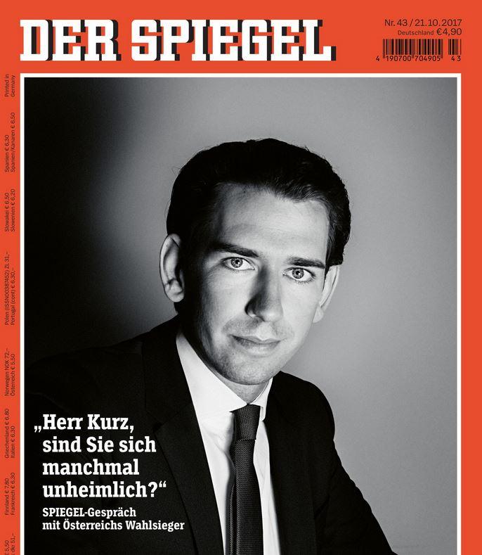 Spiegel hebt kurz auf cover seiner sterreich ausgabe for Spiegel cover 2017