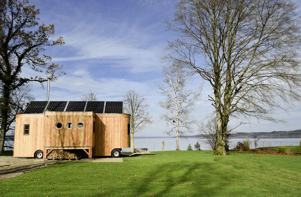 tiny houses und faltbare h tten wohnen mit zukunft architektur stadt. Black Bedroom Furniture Sets. Home Design Ideas
