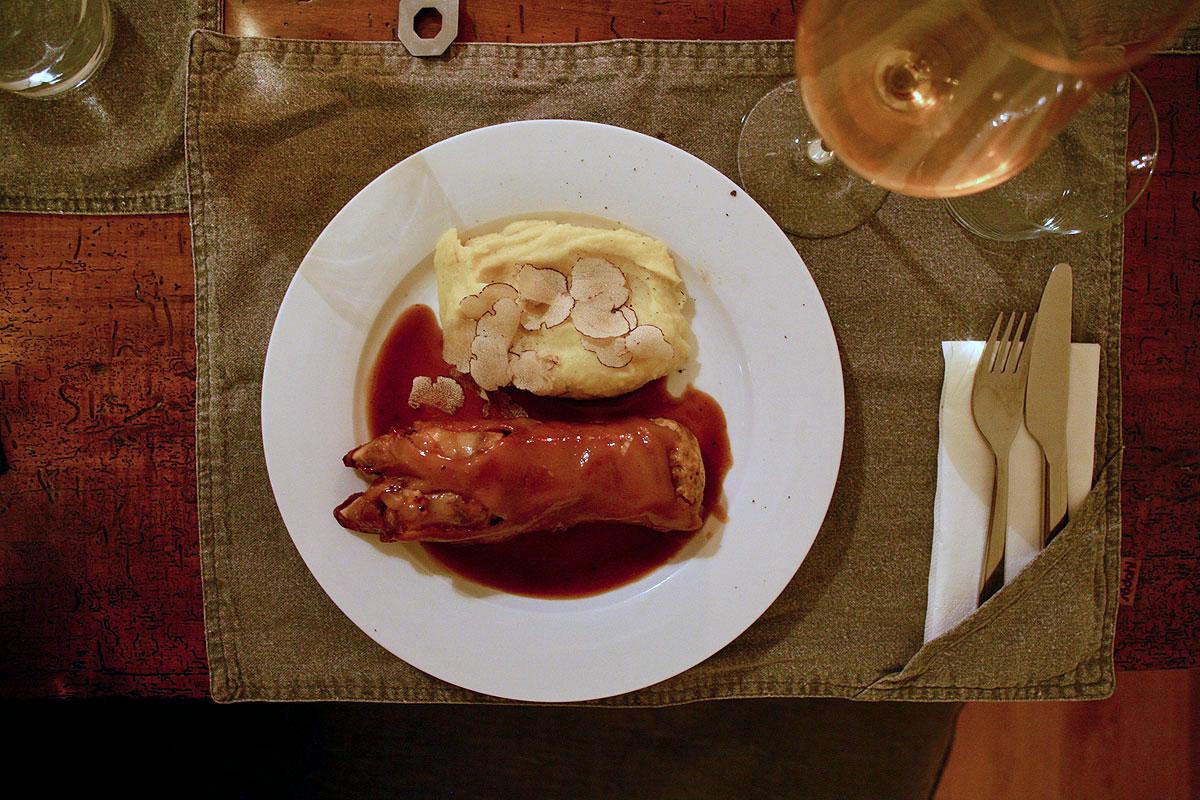 Gruß aus der Küche - Rezept: Schweinsfüße Pierre Koffmann