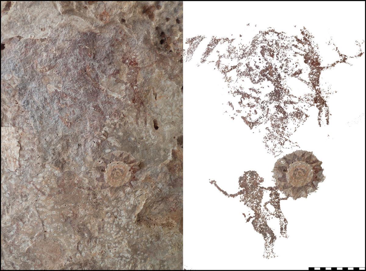 Bislang unerforschte Insel enthüllt Schatz an Höhlenmalereien