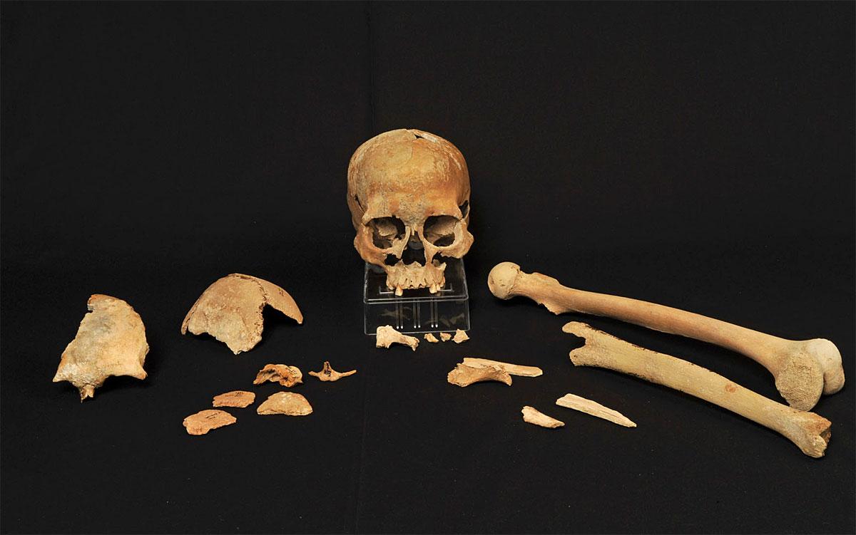 Nach der letzten Eiszeit besiedelten zwei Völker Skandinavien