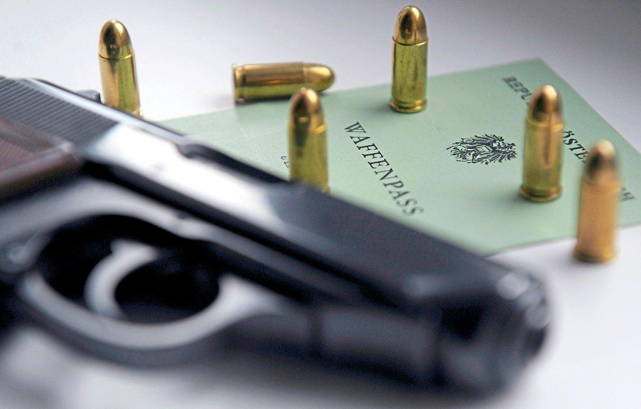 Zahl der legalen Schusswaffen auf über eine Million gestiegen
