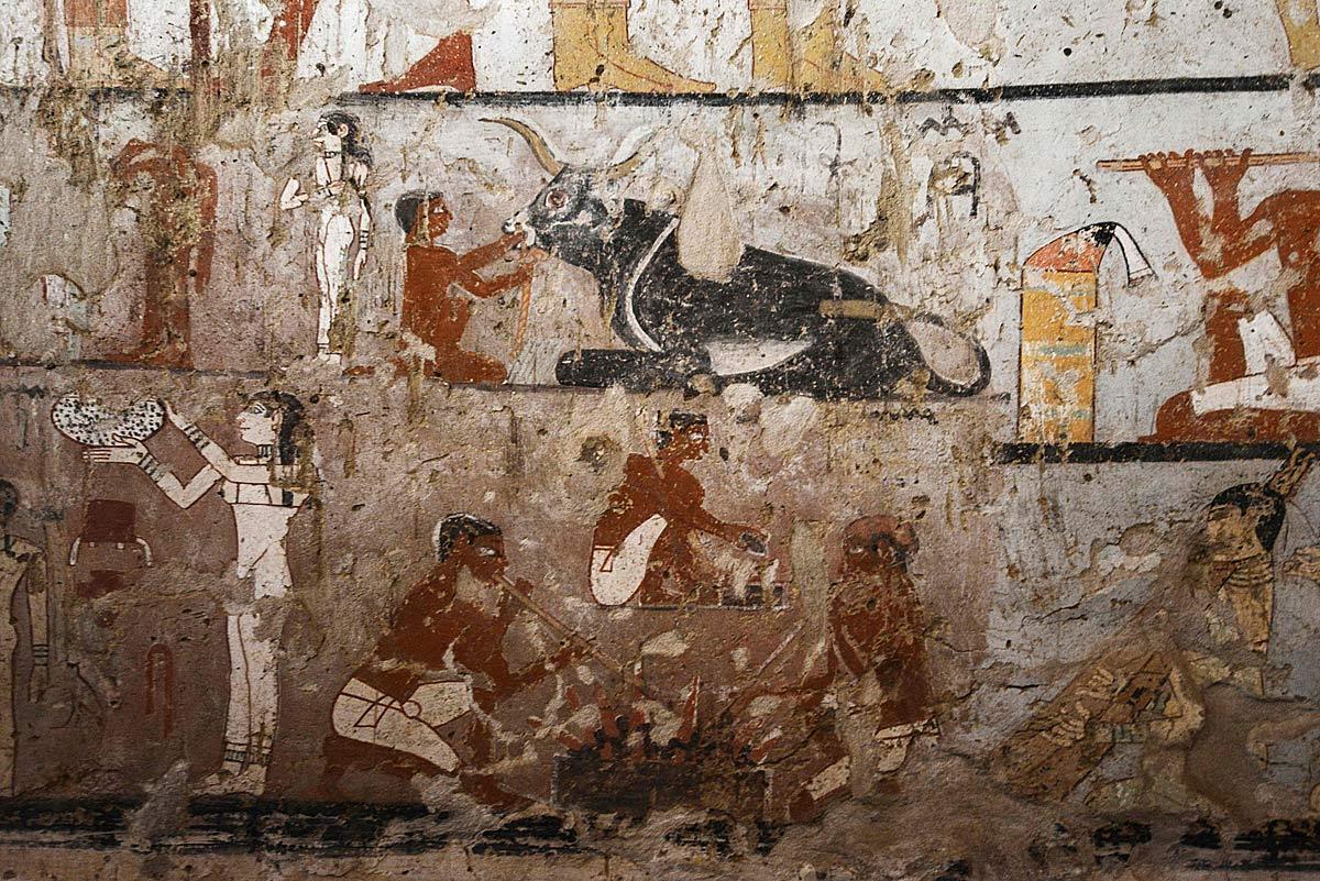 Reich verziertes Grab einer ägyptischen Priesterin entdeckt
