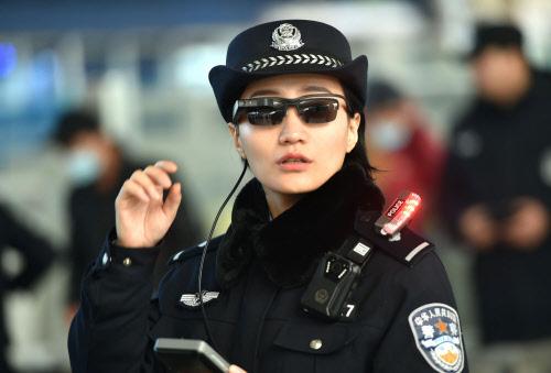 Chinesische Polizei nutzt Brillen mit Gesichtserkennung