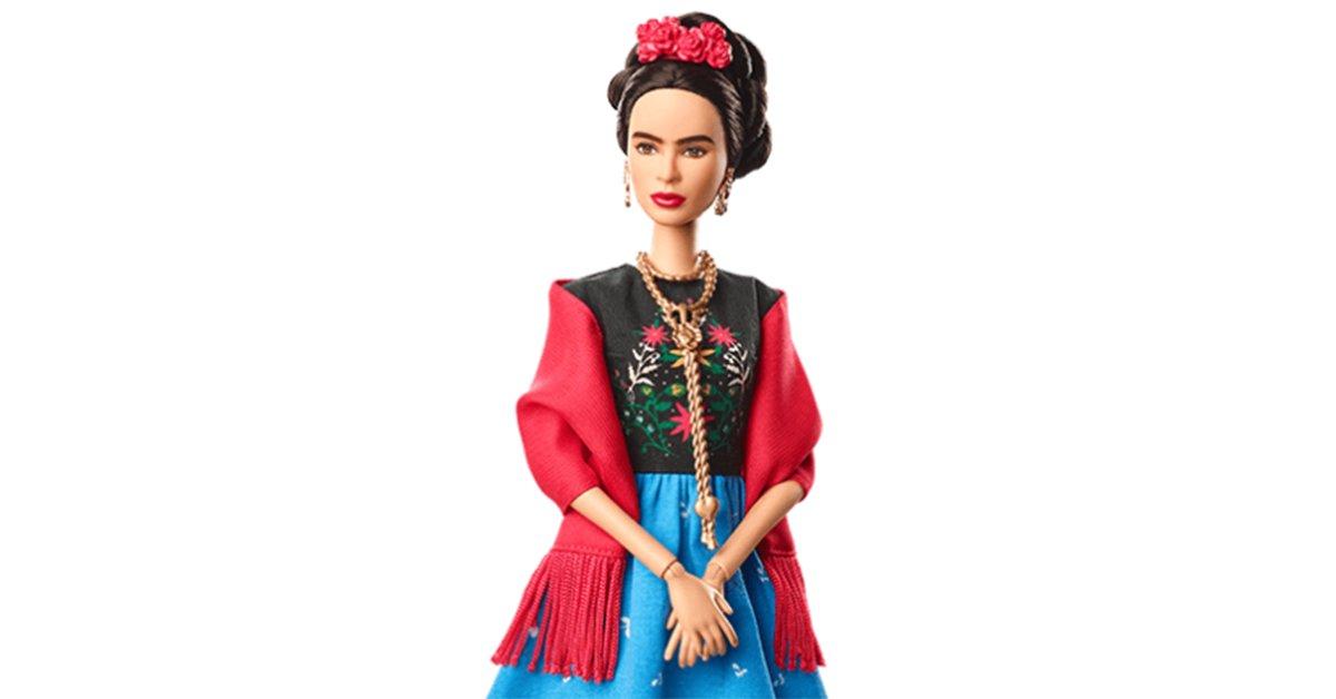 frida kahlo als barbiepuppe kind lifestyle. Black Bedroom Furniture Sets. Home Design Ideas