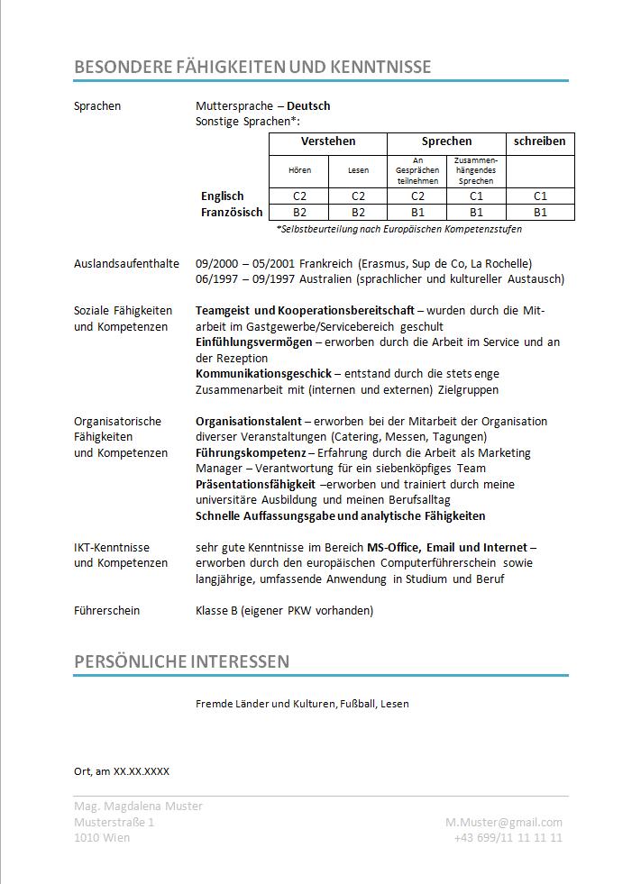 Lebenslauf Vorlagen 2018: Kostenloser Download - Lebenslauf ...