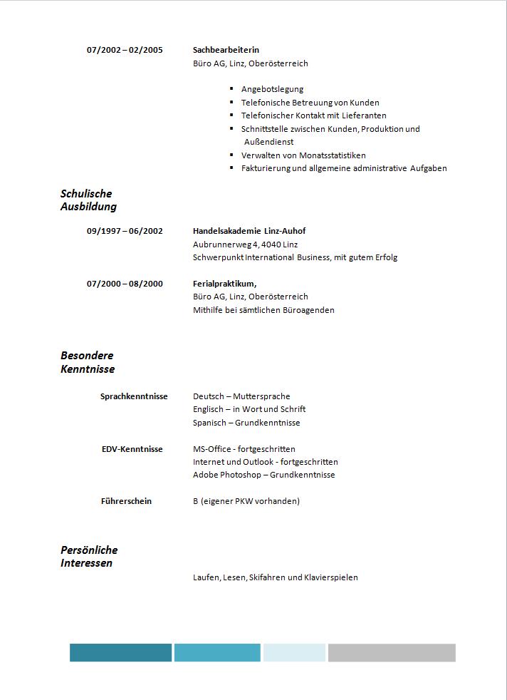 lebenslauf vorlage tabellarisch lebenslauf vorlage tabellarisch - Lebenslauf Vorlage Download