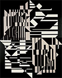 Victor Vasarely: Taimyr, 1958Scottish National Gallery of Modern Art
