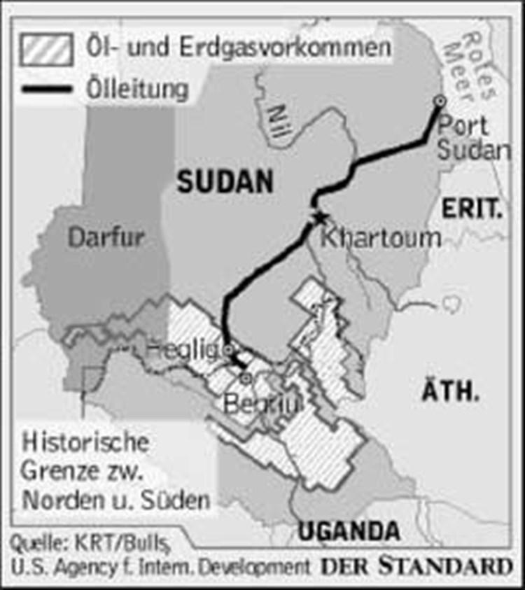 wo liegt sudan