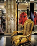 VIP-Room der Dolce & Gabbana-Boutique in Mailand.