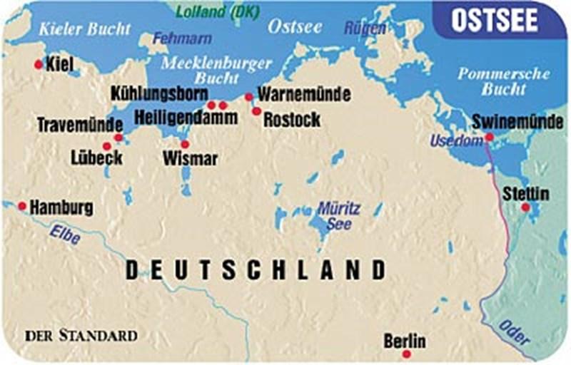 Usedom Karte Deutschland.Strandmarathon Und Waldsafari Urlaub In Deutschland Derstandard