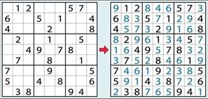 Sudoku Anleitung Wie Man Zur Lösung Des Zahlenrätsels Kommt