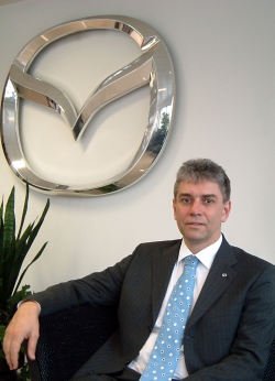 Lothar Beyer ist Marketingdirektor von Mazda Austria.