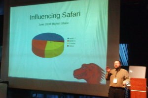 During his presentation at GUADEC Christopher Blizzard played a little side-joke on Steve Jobs. As the Apple-Boss once did, he used a pie-graph to...