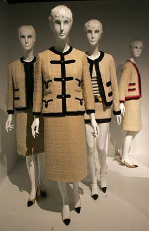 Chanel-Ausstellung im Metropolitan Museum of Art in New York, 2005.