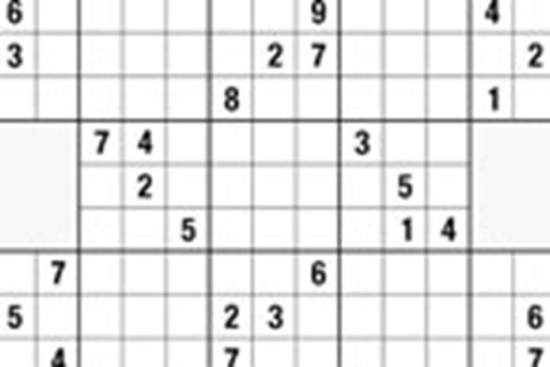 Samurai-Sudoku schwer 18 - Rätsel & Sudoku - derStandard at