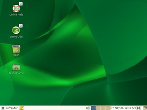den GNOME 2.24.1 in openSUSE 11.1 RC1