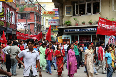 Haken in Kathmandu