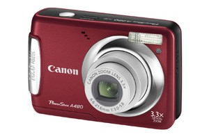 Canons neue PowerShot A480