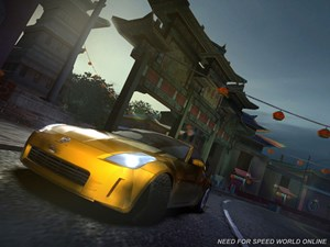 "Screenshot aus ""Need for Speed World Online"""